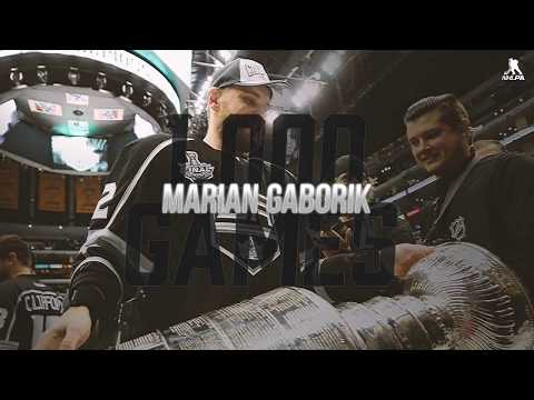 A tribute to Marian Gaborik's 1,000th NHL game
