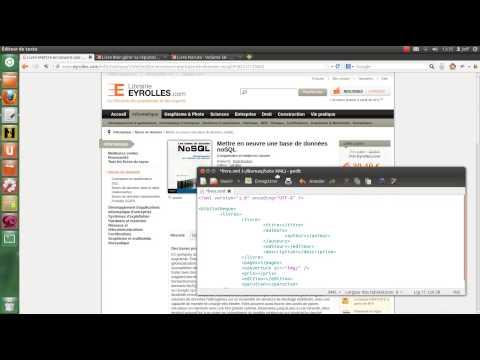 Tutoriel XML - création d