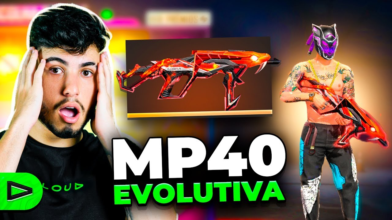JOGAMOS APENAS COM A MP40 COBRA VENENOSA NA LOUD FREE FIRE!!