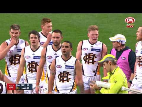Round 18 AFL - Fremantle v Hawthorn Highlights