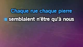 Karaoke Charles Aznavour Paris au mois d aout