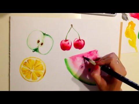 Как Рисовать Насекомых -