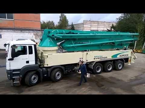 Concreat pump ECP53CS mounted on MAN TGS 41.400