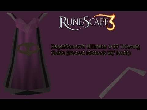 thieving guide runescape 1-99