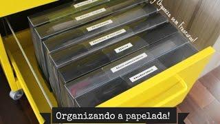 Organização da papelada Thumbnail