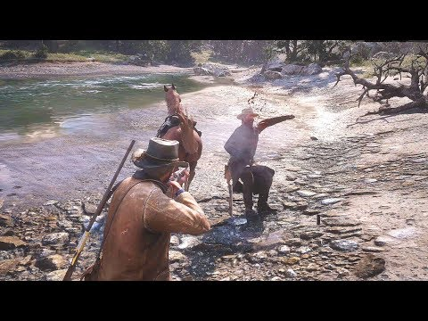 Red Dead Redemption 2 - Epic High Action Moments & Ragdolls Compilation #1