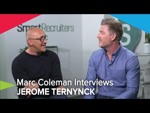 HR Tech World's Marc Coleman Interviews Jerome Ternynck