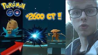 EWOLUCJE EVENTOWYCH POKSÓW !! + 2600CP POKEMON GO !! 100% IV POWER UP!!