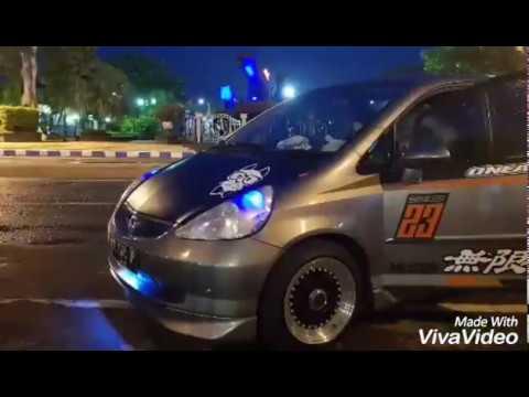 Honda Jazz Modif Velg Borbet R15