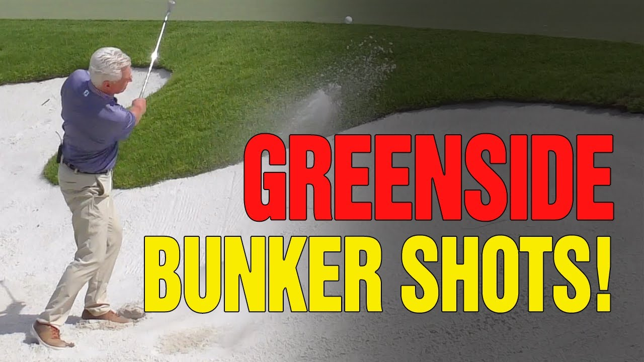How To Play Greenside BUNKER SHOTS Just Like The Pros (IT'S SIMPLE!)