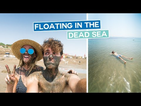 Floating in the Dead Sea, Masada Sunrise & Westbank | Israel Vlog