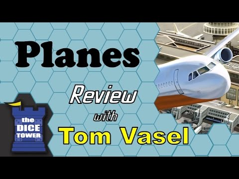 Planes Review - with Tom Vasel