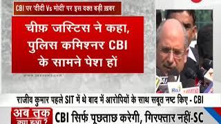 Kolkata Crisis: SC Directs Rajeev Kumar to Appear Before CBI