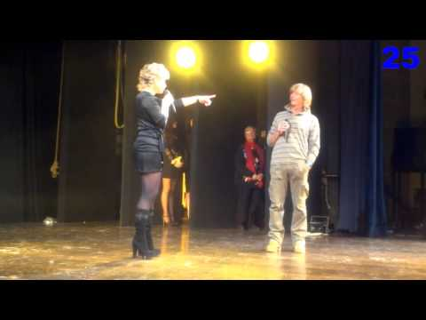 Carmen Russo Balletto Hot con Enzo Paolo Turchi a Miss Intimo thumbnail