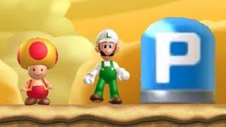 New Super Luigi U Co-op Walkthrough - World 9 Superstar Road (All Star Coins)