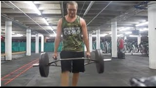 Lower Core STRENGTH Workout [Squats, Farmer Walks, Prowler and Sled-Pulls]