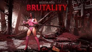 Ravenous Brutality Early Lunch with Mileena! - Mortal Kombat XL Online Ranked Matches