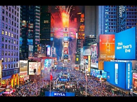NBC 2017 New Year's Eve Ball Drop New York HD