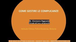 Complicanze delle osteotomie - Gianmarco Regazzola - 10.5.20