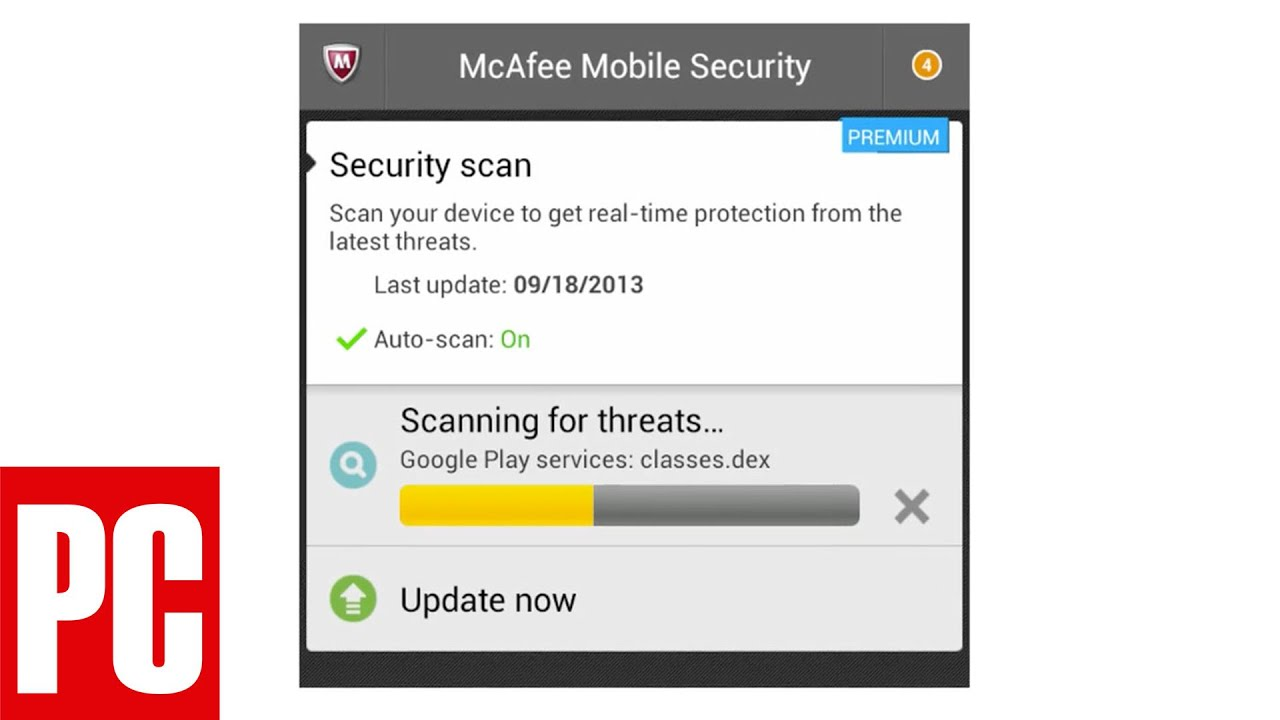 McAfee Antivirus & Security 3 1 Premium (for Android) Review