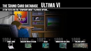 Ultima VI on different sound cards