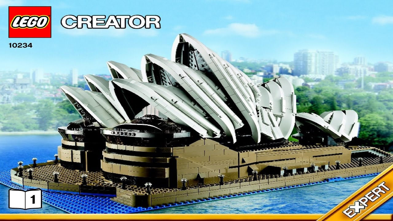 10234 Lego Sydney Opera House Creator Expert Instruction
