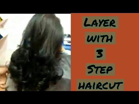 3 Step Multi Layer With Step Haircut 2018 Youtube