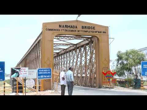 TRAFFIC PROBLEM HAS BECOME ACUTE IN THE BHARUCH GOLDEN BRIDGE - VTV