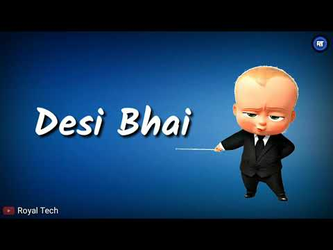 😎 Bhai Bholte 😎 || New Whatsapp Status Video || Royal Tech