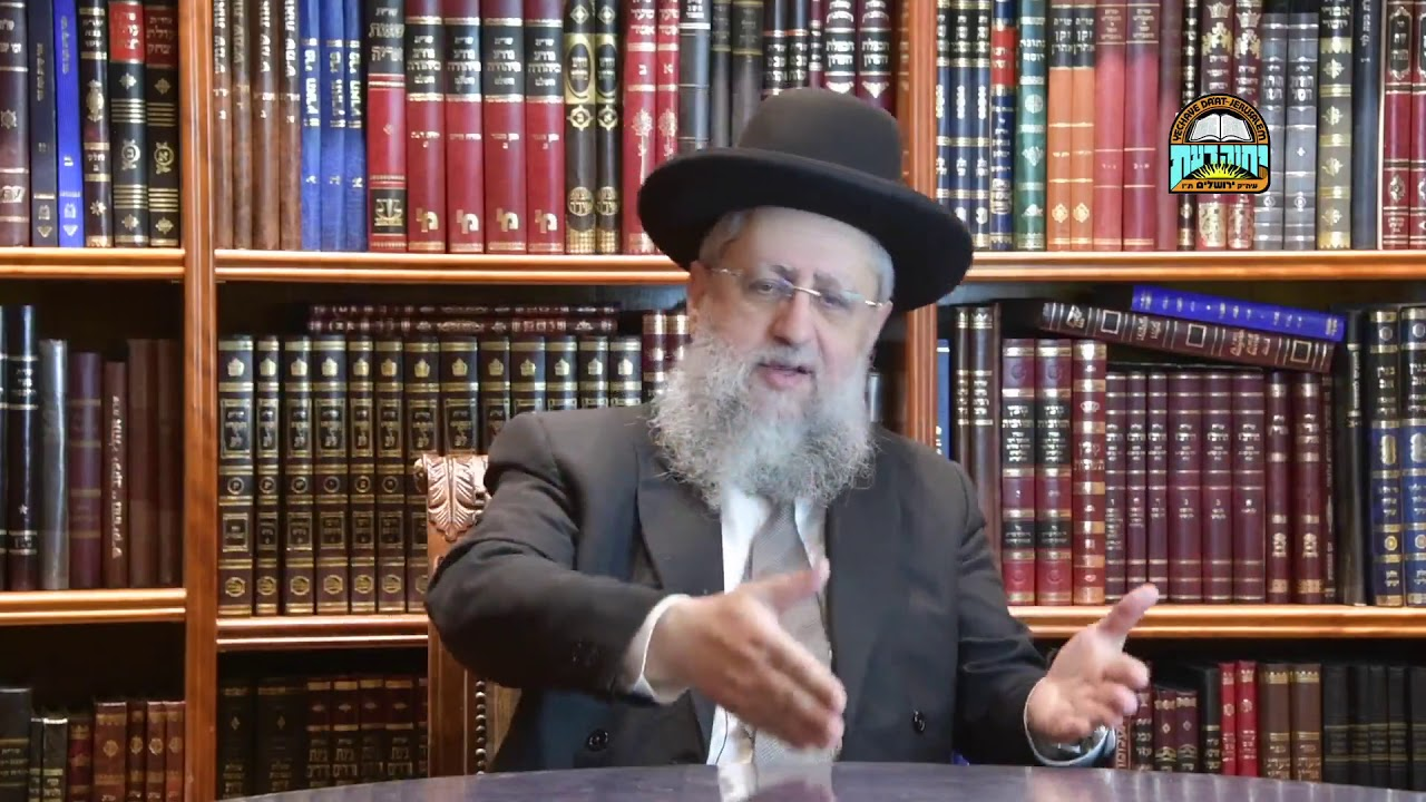 Rabbi David Yossef   Parashat Vaera  Why Ten Plagues and Not Less