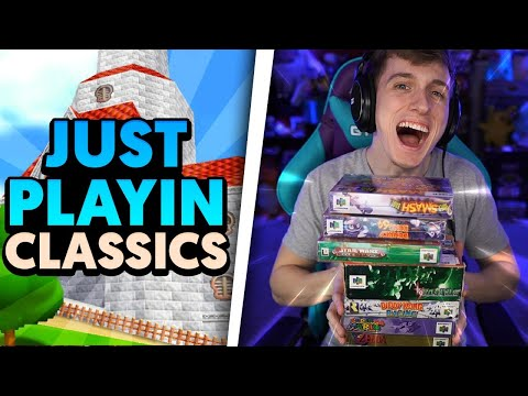 We just playin' amazing classic games tonight!