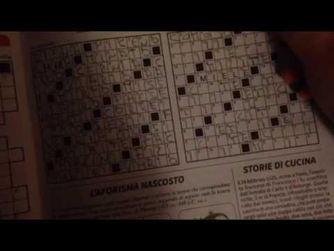 ASMR Cruciverba | Crittografati | Relax