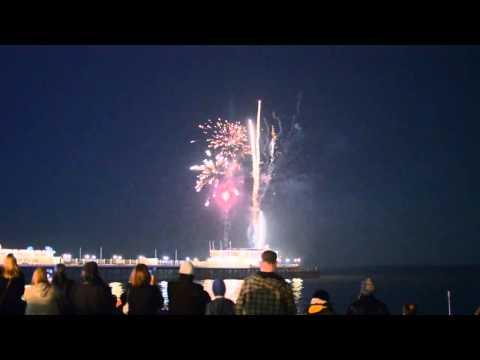 Tide of Light Fireworks on Worthing Pier 2014 | Robert Luff & Co