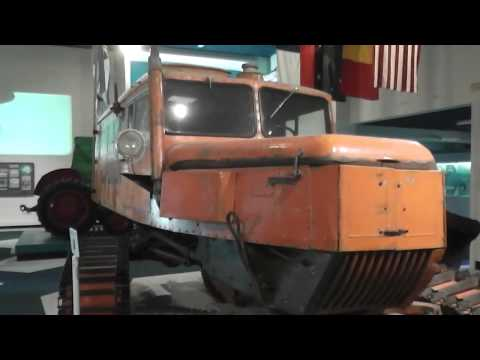 1955 Tucker Sno-cat from the Commonwealth Trans-Antarctic Expedition. Museum Display walk around.
