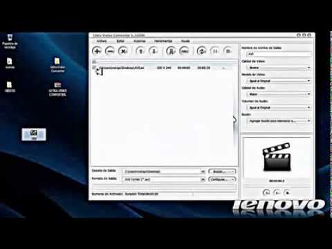 TUTORIAL DE ULTRA VIDEO  CONVERTER (full en español) 2013