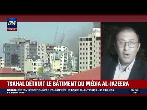 Tsahal détruit le bâtiment du média Al-Jazerra
