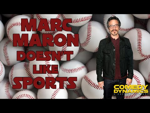Marc Maron - Why I Don't Like Sports (Stand Up Comedy)
