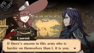 Fire Emblem Awakening -  Laurent & Lucina Support Conversations