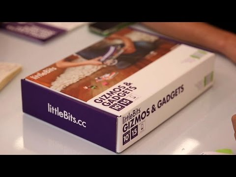 CNET News - Build a toy car and more with this gadget kit from LittleBits