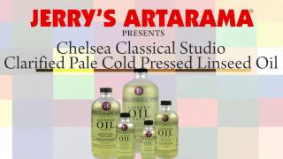 Clarified Pale Linseed Oil - Chelsea Classical Studio