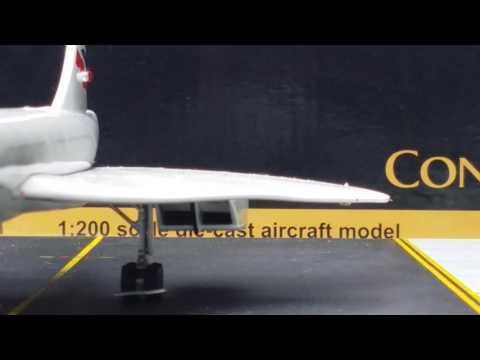 Gemini 200 British Airways Concorde SST(Supersonic Transport)Review