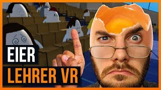 Steven hat die Eier in der Hand! - Egg Teacher VR