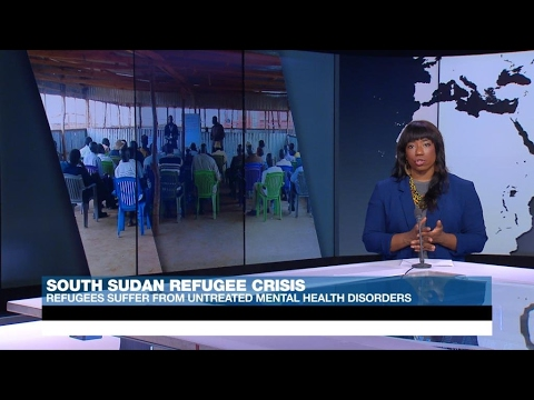 Displaced people in South Sudan suffer from untreated mental disorders