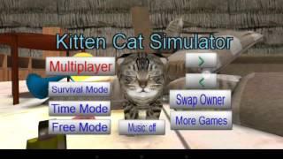 Симулятор котёнка 3D на андроид