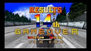Game Play Daytona USA XBOX 360