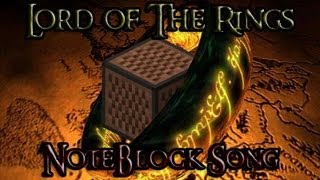 NoteBlock Song: Lord of the rings theme song (Ring goes to south) [részlet]