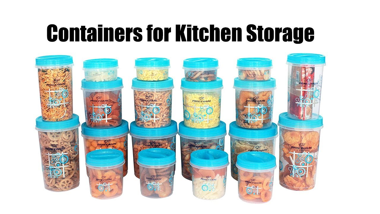 Prince Ware Twister Combo Plastic Package Container Set Unboxing Plastic Containers For Kitchen Youtube