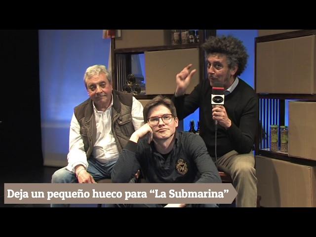 Compañia de Teatro La Submarina El señor Ibrahim y las flores del Corán