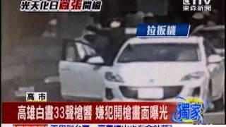 東森新聞 高雄白晝33聲槍響 嫌犯開槍畫面曝光