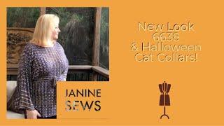 New Look 6638 & Halloween Cat Collars! E22